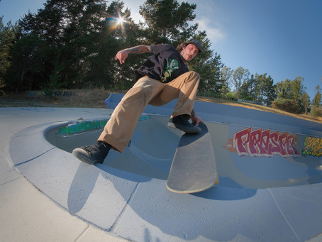 Buena Lives! The Skateboard World's Oldest* Cement Pond Gets a Sweet Facelift....