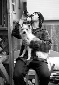 Stevie Phillips and His Dog