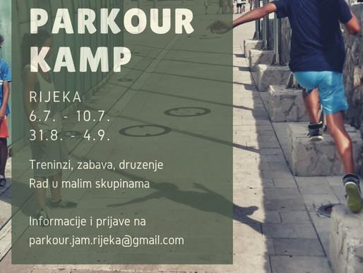 Parkour kamp - potpuno drugačiji kamp
