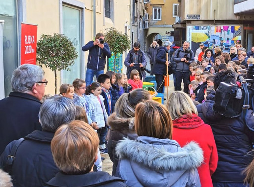 Trg Svete Barbare službeno otvoren!