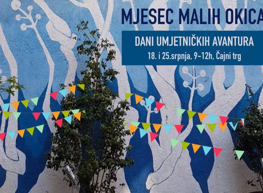 Dan Umjetničkih avantura uz ples, glazbu, glumu i likovne radionice!