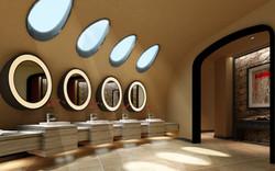 Eco-Washroom Interior