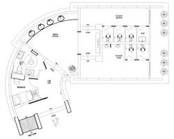 Eco-Washroom floorplan