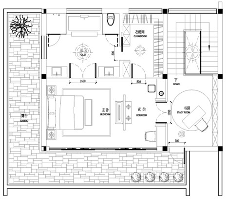 Villa - Floorplan