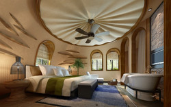 Hotel Internal #C Bedroom