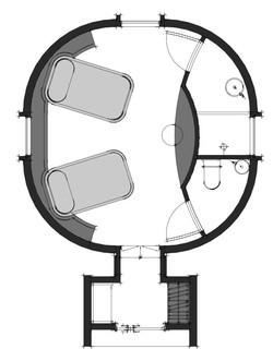 Hotel Internal #B Floorplan