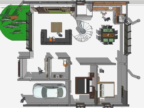 Villa - Sturcture