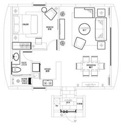 Residential #A Floorplan