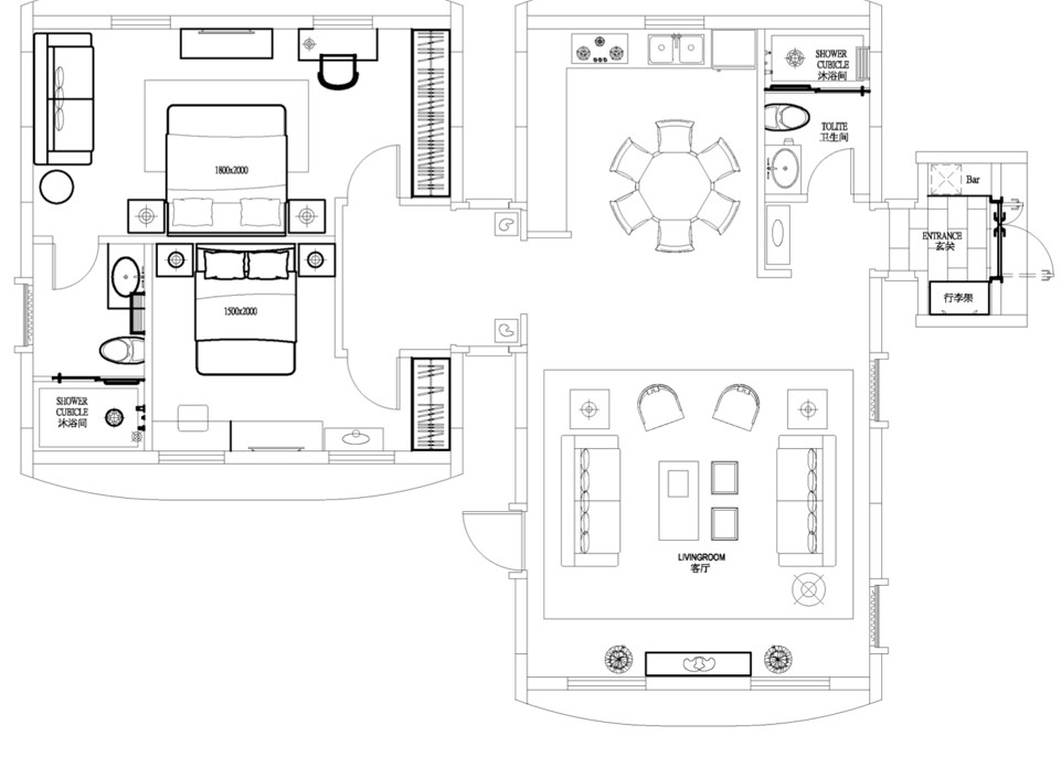 Residential #B Floorplan