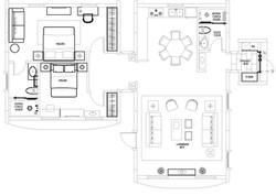 Residential #B Floorplan