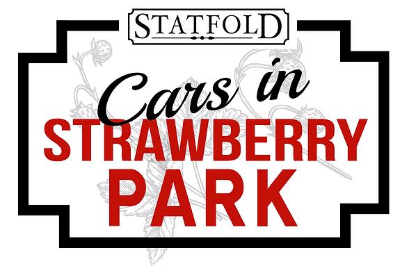 Cars in Strawberry Park Statfold logo