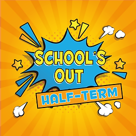 Statfold Schools out for Half-Term Graphic