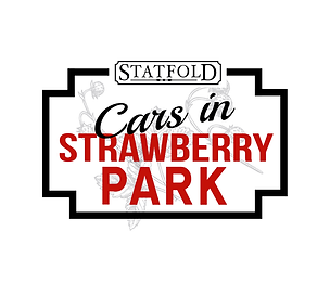Cars in Strawberry Park logo