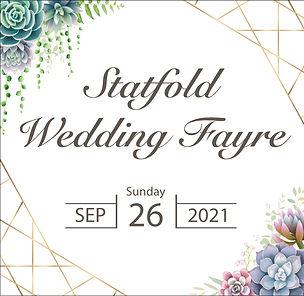 Statfold Wedding Fayre Graphic