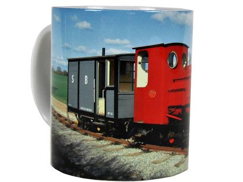 Statfold with Carriage Mug