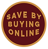 Save by buying online Icon