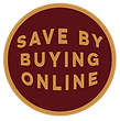 Save by buying online