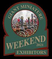Giant Miniature weekend exhibitors logo