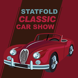 Statfold Classic Car Show Graphic