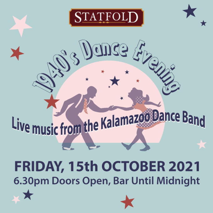 1940 Dance Evening event graphic