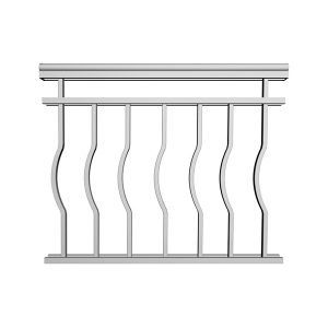 Aluminum Picket Railing | RCD18