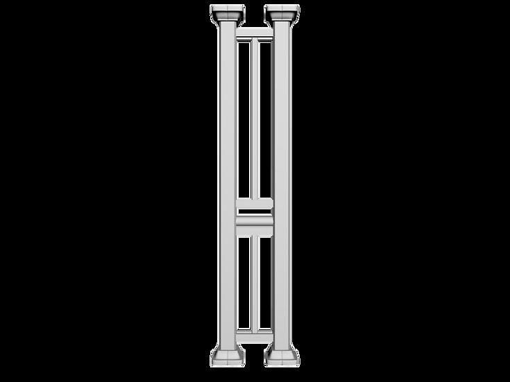 Aluminum Column | Double Post, Standard Railing