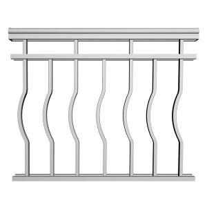 Aluminum Picket Railing | RCD17