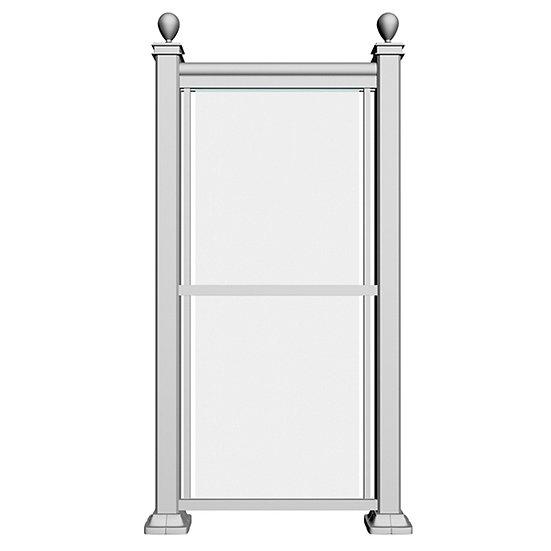 Aluminum Privacy Screen | APS2