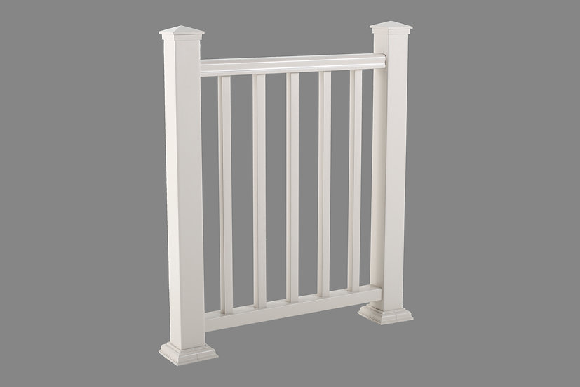 Vinyl Picket Railing | Standard