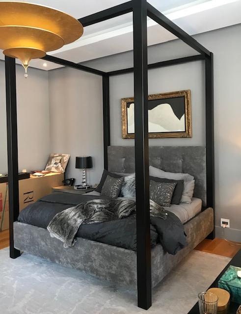 custom steel bed