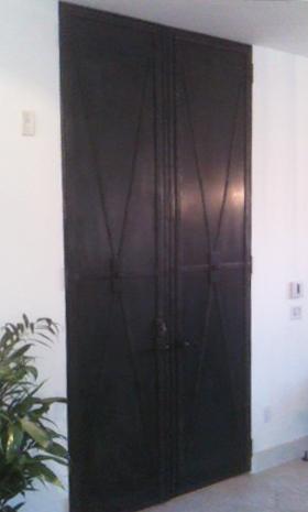 Steel iron door