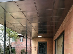stainless ceiling panels