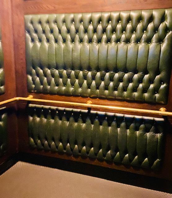 custom brass elevator rail
