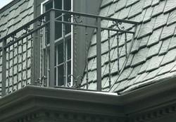custom inron balcony