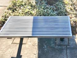 custom metal bench