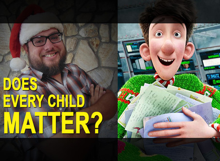 ARTHUR CHRISTMAS (2011), Lost Sheep, and the Value of Each Child