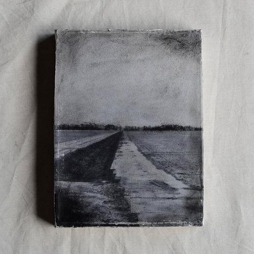 Schilderij paden maken en bewandelen