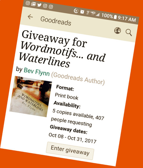 Final haunted hours... to enter! Visit Goodreads... take a chance!
