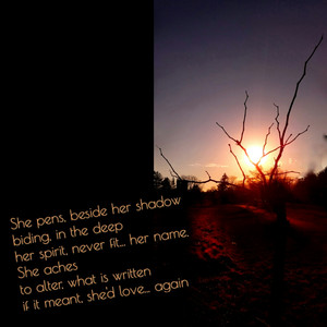 her spirit, never fit... her name