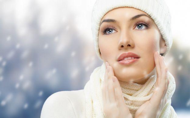 Proteggere la pelle durante l'inverno.