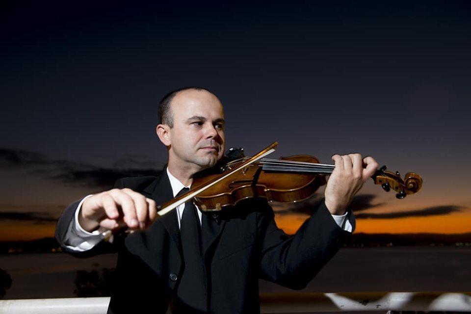 Violinista Guilherme Hammes