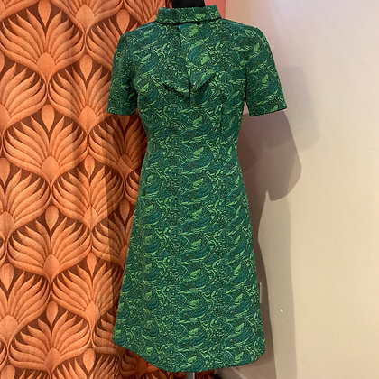 1960's Brocade Shift Dress