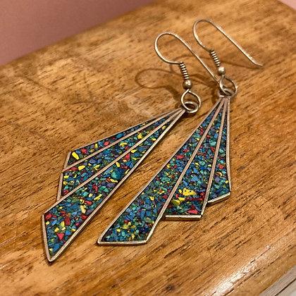 1970's drop earrings