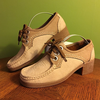 1970's Suede Loafers