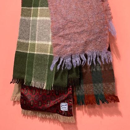 Vintage Wool Scarves