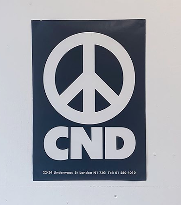 1980's CND Poster A3