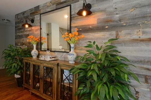 Rustic Wood Accent Wall