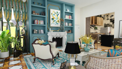 Colorful Living Room 4