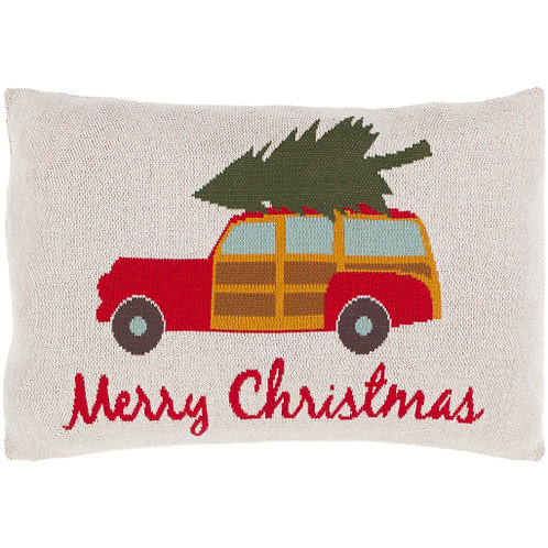 Old Fashioned Christmas Throw Pillow