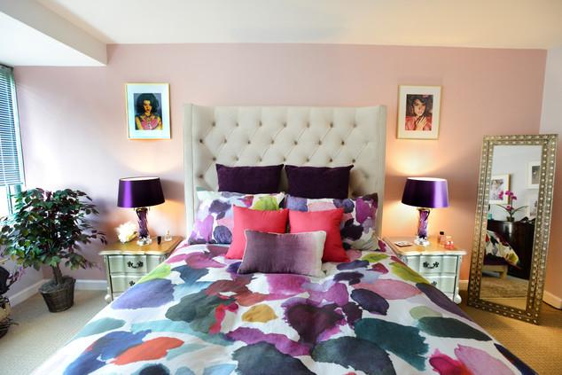 Feminine Bedroom Colorful Duvet